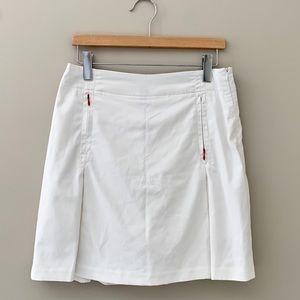 Nike Golf Fit Dry White Skort